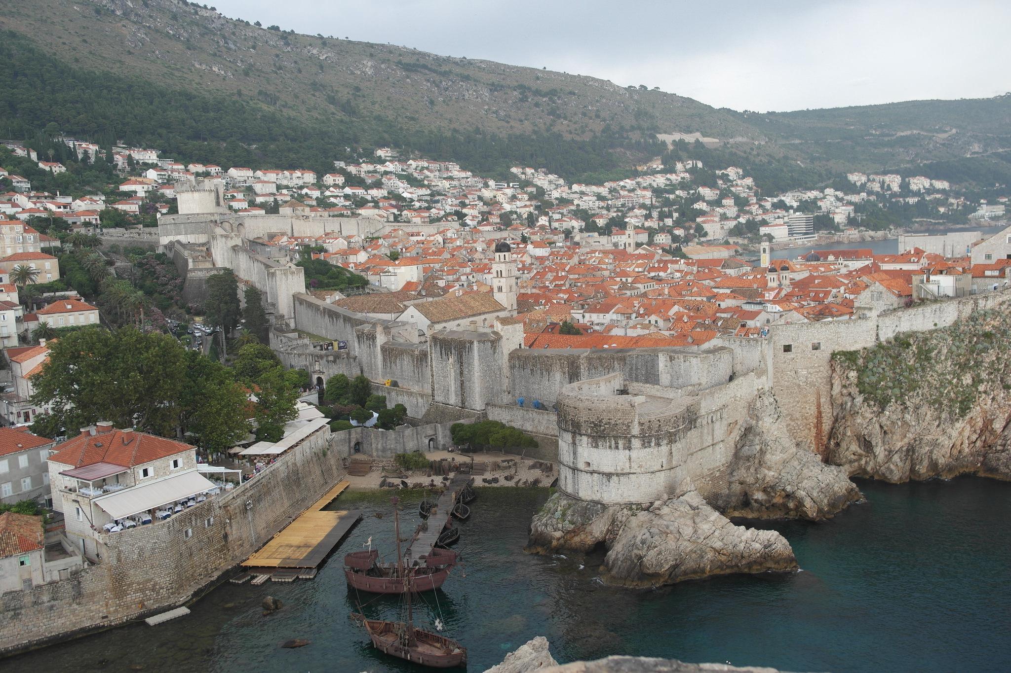 Blick auf Dubrovnik